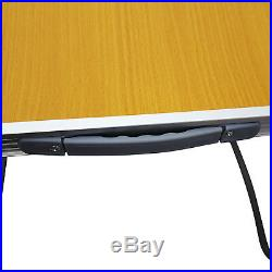 Mdf Wooden Portable Folding Table Indoor Outdoor Dining Camping Picnic Party