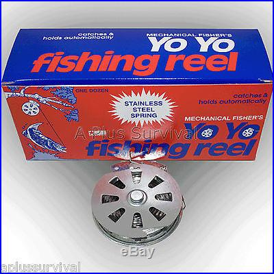 Mechanical Fishing Line for Survival, Hunting, Camping