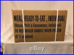 Military MRE case A & B 10/21 inspection date