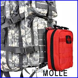 Military Tactical Camping Bag Assault Pack Backpack Army Molle Waterproof Hiking