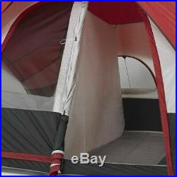 Modified Dome Tent 8-Person Outdoor Camping Tents Mesh Roof Spacious Rooms New