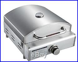 Mont Alpi MAGR 3-in-1 Portable Grill, Large, Stainless Steel