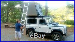 NEW Extended Ventura Deluxe 1.4 Roof Tent Land Rover Expedition Overland 4x4 Van