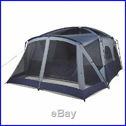 NEW Ozark Trail 12-Person Cabin Tent With Screen Porch Sleeping Family Camping