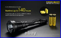 NITECORE MH40GTR Ultra Long Throw Rechargeable Hunting Flashlight & Car Adapter
