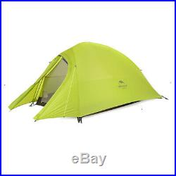 Naturehike 1 Person 4 Season Ultralight Camping Tent 20D Silicone
