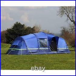New Berghaus Air 6 Inflatable Tunnel Design 6 Person Family Tent