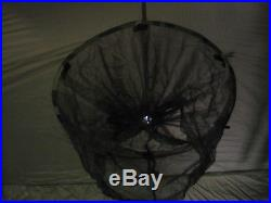 New Gi Issue Eureka Ecwt Tent Plus Poles Free Standing Shelter 4 Man Light Wgt