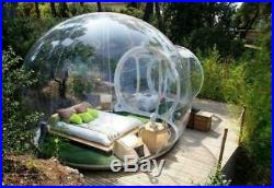 Nflatable Bubble Tent House Dome Outdoor Clear Show Room with 1 Tunnel