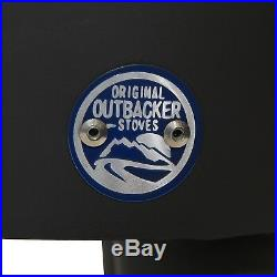Outbacker Firebox Range Oven Portable Wood Burning Tent Stove Free Carry Bag