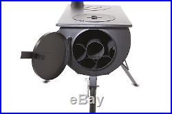 Outbacker Portable Tent Stove & Spark Arrestor Package + Free Carry Bag