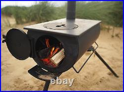 Outbacker Portable Wood Burner, Camping Stove With Free Carry Bag