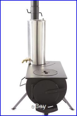 Outbacker Stove & Water Heater for Outbacker / Frontier Stove + Free Bag