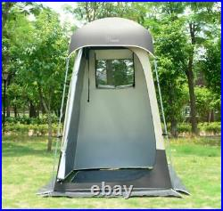 Outdoor Camping Pool Portable Pop Up Shower Bathroom Booth With 20L Shower Bag NEW