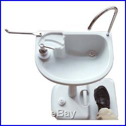 Outdoor Camping Wash Basin for 10/20L Portable Toilet Flush Wastewater Reuse New