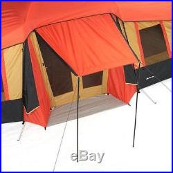 Outdoor Tent 10 Person 3 Room Cabin with PORCH Camping Shelter Family Hiking NEW