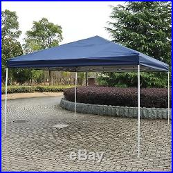 Outsunny 13'x13' Easy Pop Up Canopy Shade Cover Party Tent Outdoor Gazebo