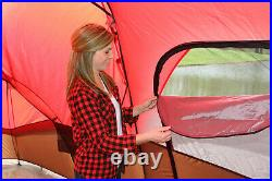 Ozark 10 Person 2 Room Cabin Tent Waterproof Rainfly Camping Hiking Outdoor NEW