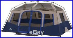 Ozark Trail 10 Person 2 Room Instant Cabin Tent Camping Fast setup