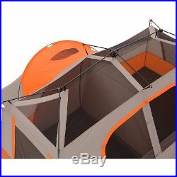 Ozark Trail 11 Person 3 Room Instant Cabin Tent Private Room Outdoor Camping New