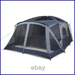 Ozark Trail 12 Person 2 Room Cabin Tent Screen Porch Outdoor Camping Easy Setup