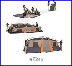 Ozark Trail 12 Person 3 Room Instant Cabin Camping Family Tent Rainfly WMT-20108