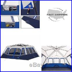Ozark Trail 14 Person 2 Room Instant Large Camping Tent Family Outdoor NEW