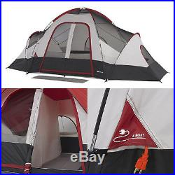 Ozark Trail 8 Person Instant Room Cabin Family Outdoor Tent Camping Easy Setup