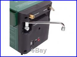 PORTABLE GAS HOT WATER SYSTEM with shower tap use butane/propane Geyser Kampa