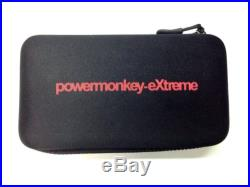 POWERTRAVELLER PowerMonkey Extreme Solar Powered Charger Red