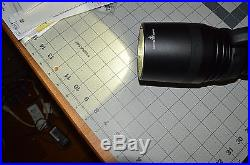 Polarion PH40 HID Light with NEW battery, case and charger