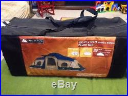 Portable Camping Tent Cabin 10 Person 3 Room Folding Waterproof Carry Bag Hiking