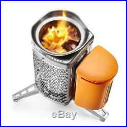 Portable Outdoor Stove Heater Charger Survival Hiking Camping Hunting Fire Tools