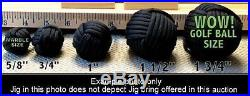 QUALITY CRAFTED 24 PARACORD BRACELET JIG + MONKEY FIST JIG ATTACHMENT