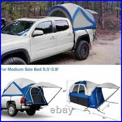Quictent 5.5'-5.8' Camping Truck Tent Canopy Pickup Short Bed Box Travel Shelter