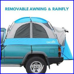 Quictent Full Size Pickup 5.5'-5.8' Truck Tent Outdoor Camping Bed Box Shelter