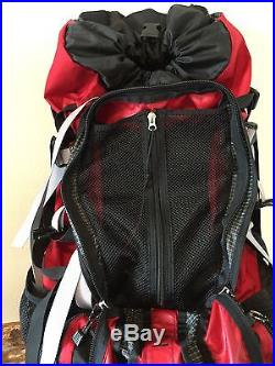 Red Gregory Denali Pro Hiking Camping Backpack Medium EUC Incl. Extras Outdoor