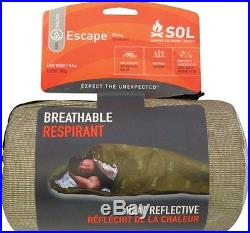 SOL Escape Bivvy OD Green Tactical Emergency and Survival Shelter