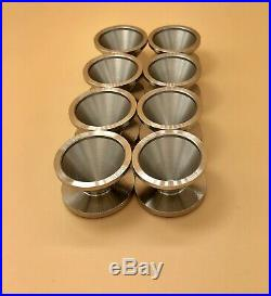 Set 8 316L Stainless Steel Cups NAPA 4003 / WIX 24003 1.375 1.36 1.35 1.34