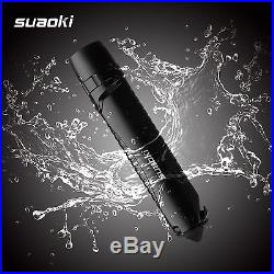 Suaoki 4-in-1 Cree Led Rechargeable Brightest Flashlight Torch Light Powered