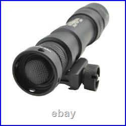 Surefire M600DF Scout Ultra Dual Fuel LED Weapon Light with 4 CR123 & Battery Box
