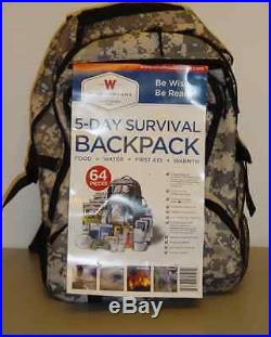 Survival Food Supply Emergency Ultimate 5 Day X2 Bugout Backpack Wise Camping