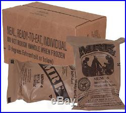 Survival case of Meals Ready to Eat (MRE)