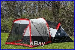 Tahoe Gear Zion 9 Person Three Season Family Tent with Screen Porch