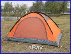 Tent Double Layer 2 Person 4 Season Outdoor Camping Wind Snow Skirt Light