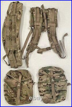 USGI MOLLE II Large Rucksack Complete Multicam/OCP with Sustainment Pouches