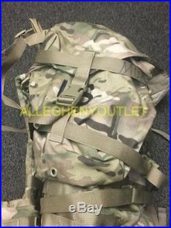 USGI MULTICAM OCP MOLLE LARGE RUCK SACK FIELD PACK COMPLETE /w FRAME & POUCHES