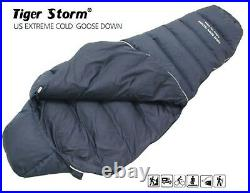 US Extreme Cold High Quality Goose Down Winter Camping Outdoor Sleeping Bag Gear