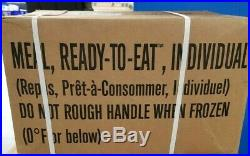US Military MRE Case Meal Ready to Eat 12 Meals Choose Case A or B