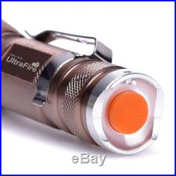 Ultrafire Zoomable CREE XML T6 LED 18650 Flashlight Focus Torch Lamp Adjustable